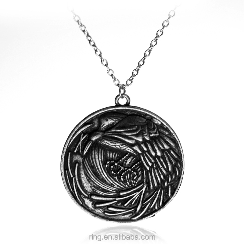 New Design Game of Thrones A Feast for Crows By Inspired Crows Pendant Neckalce