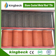 Stone Coated Metal Roof Tile Roof Shingles 25 Year Warranty
