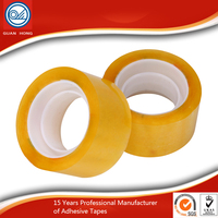 6 rolls/shark ISO&SGS Certificated clear Bopp Packaging Tape High Adhesive for industrial workshop box Sealing