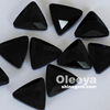 Made In China wholesaler black triangle glass pointback rhinestones for decoratives