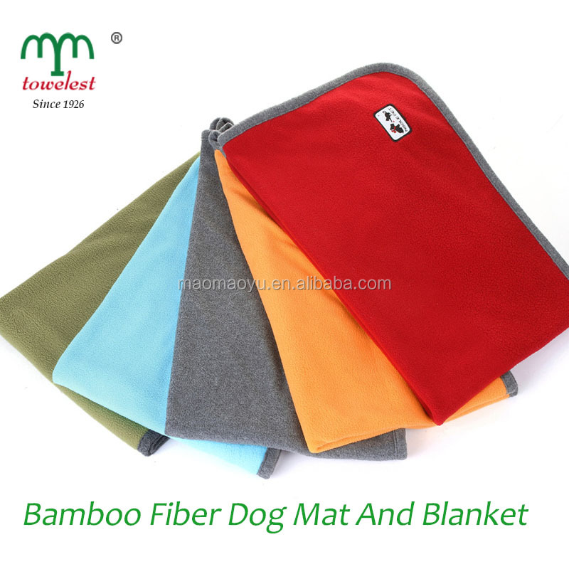 Bamboo Thick Soft Easy-cleaning Pet dog blanket and Dog mat