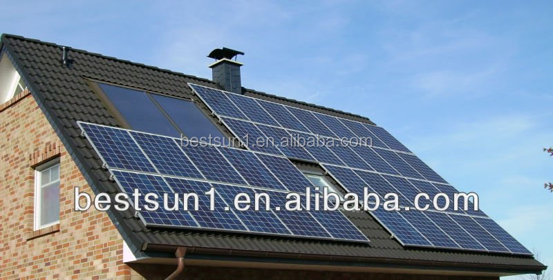 domestic use 4000w home solar system