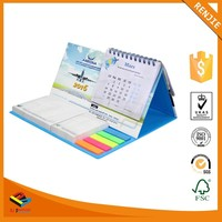 2017 High quality New Design Customed printing colorful creative desk calendars