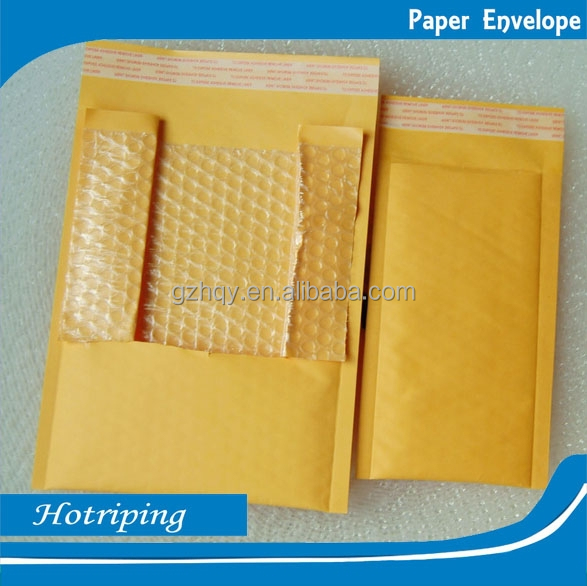 Factory wholesale oem air bubble envelope, kraft bag packaging envelope