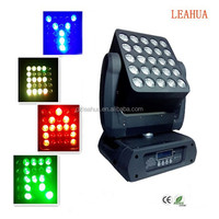New Product Rgbw 4in1 LED Moving Head Matrix Light/ magic Panel