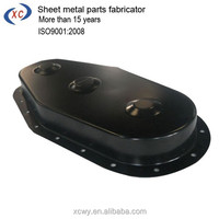 XCWY custom powder coated bending case for auto