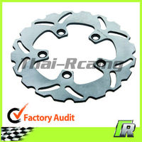 Rear Stainless Steel Motorcycle Solid Brake Disc Rotor For YZF R1 1000CC YZ F R6 600CC FJ1200 FJR1300