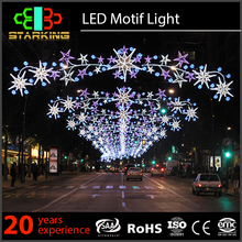 Outdoor lighting decoration christmas led street motif light project