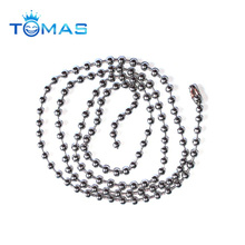High quality custom stainless steel 30 inch ball chain