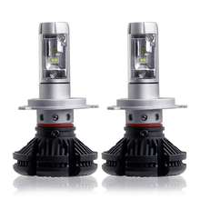 Auto <strong>Lighting</strong> System X3 6000k 8000k 3000k Waterproof 50W H4 Led Headlight H4