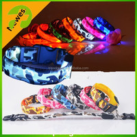2015 hot selling led dog collar,fashion flashing led dog collar wholesale