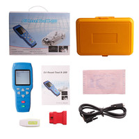 2015 the latest X200 Oil Reset Tool Auto Scanner free online updates hand-held device with the ex-factory price