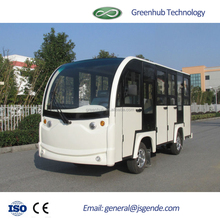 all closed High quality 14 seats electric sightseeing car