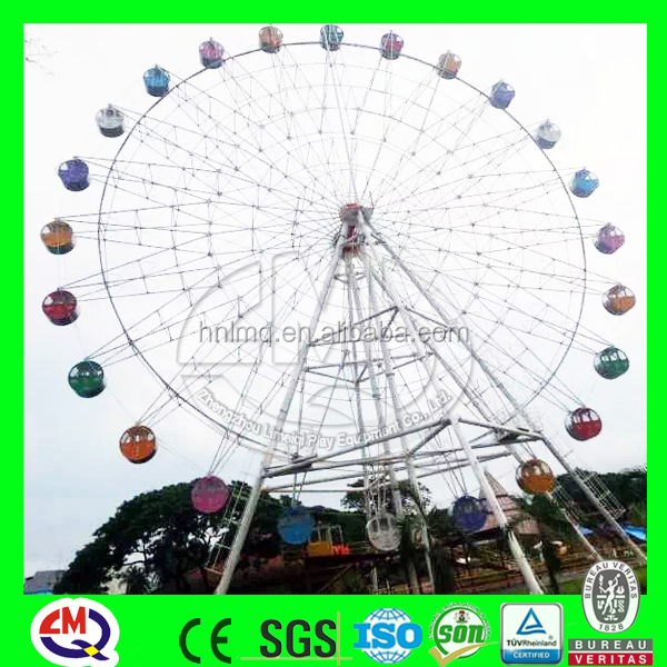 2016 best quality park attraction sky wheel