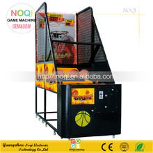 NQT-A05 indoor basketball ticket redemption game machine cheap arcade game for double kids