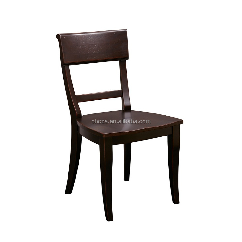 F40464A-1 Made in china modern danish design solid wood dining room chairs