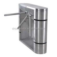 Optical High speed security entrance barrier turnstile access control gate