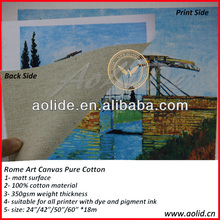 Artist Painting Canvas Roll