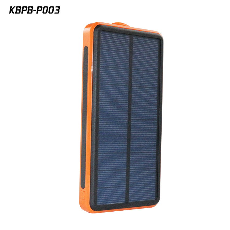 P003 Solar power bank, mobile solar charger, solar mobile phone charger