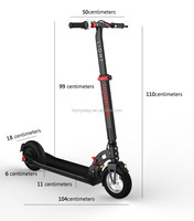 INOKIM hot sale CE approved folding electric kick scooter for adults