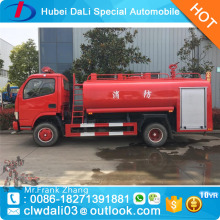 5ton types of fire trucks water tanker