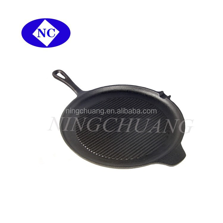 cast iron cooking frying pan ,skillet,round frying pan
