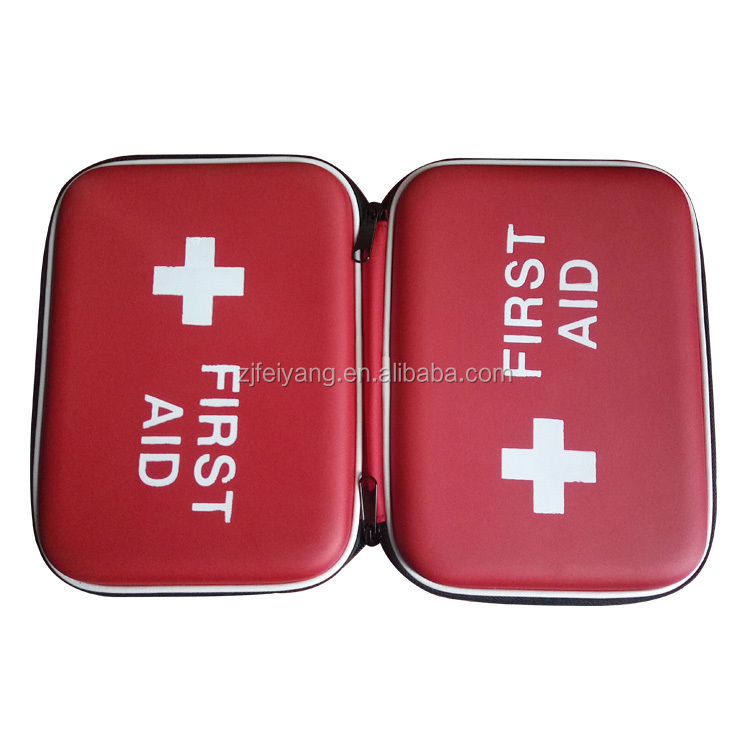 Factory whoesale promotional gift First Aid Kit for camp, travel, workplace, home, car bag