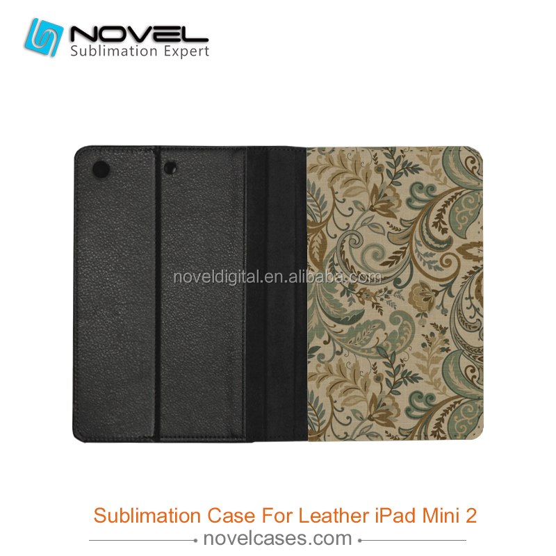 for ipad mini 2 tablet case \ PU leather cover for iPad mini2