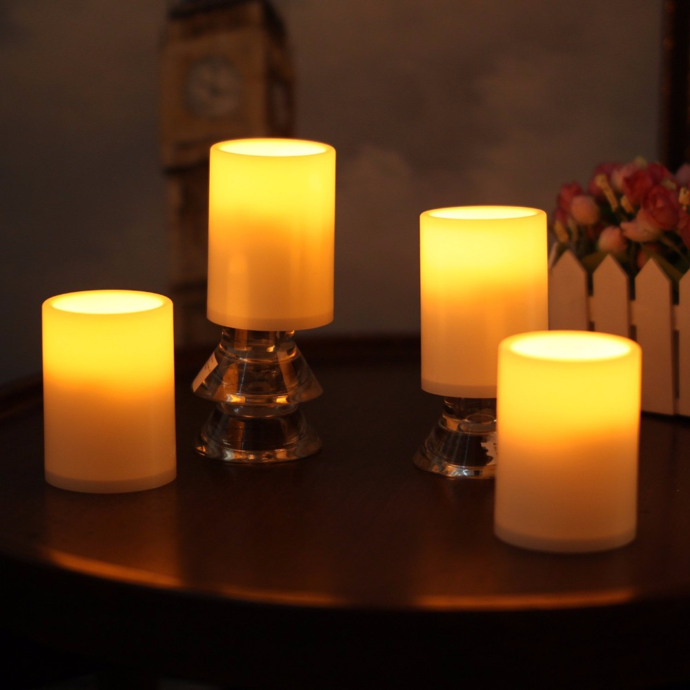 Rechargable Pure Tealight Led Candle