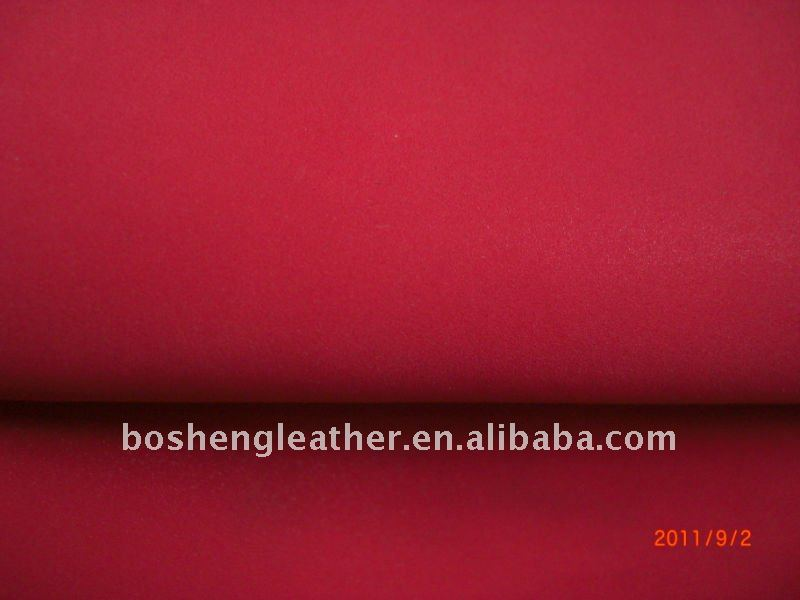 smoothness red cow split leather