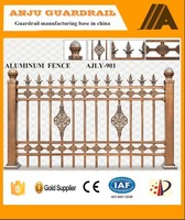 Easily Assembled used aluminium picket fence AJLY-901