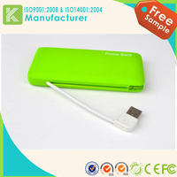 New design travel power bank mobile portable charger 20000mah for smart phone
