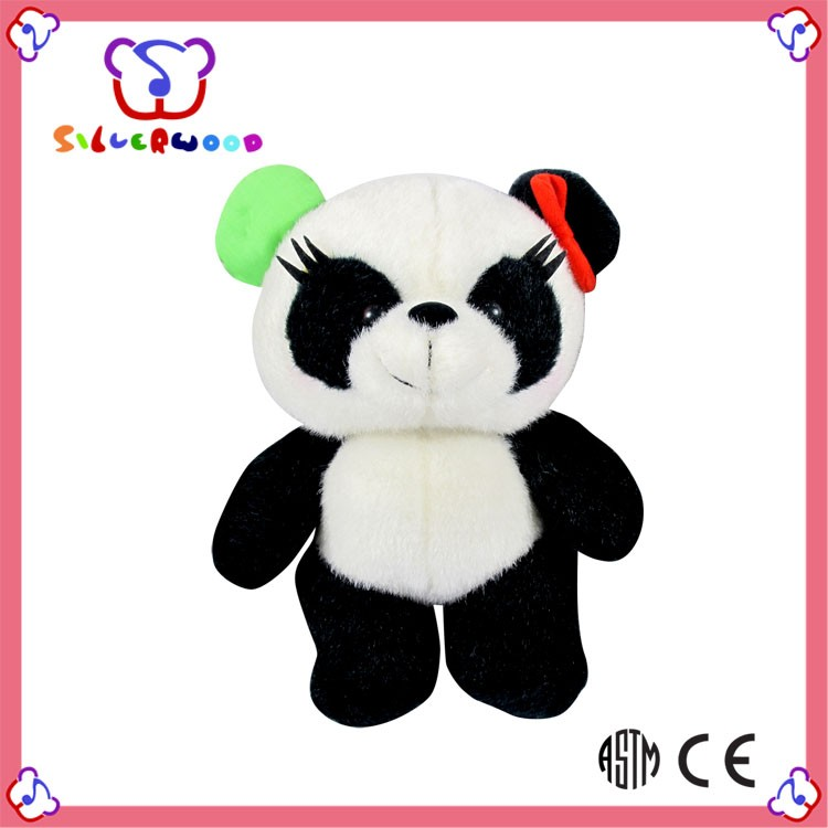 ISO 9001 Factory new fashion christmas gifts solar panda toy