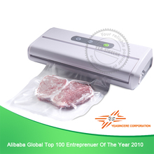 Customized handy plastic bag vacuum sealer