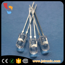 low power consumption ultra bright white color 5mm LED diode