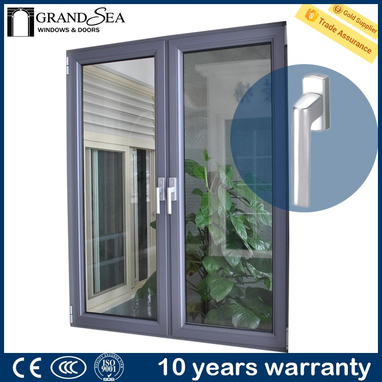 Cheap price of single glass window blinds aluminum designs