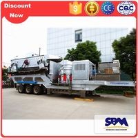 Portable stone crushing equipment price for sale for micro silica