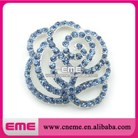 blue pearl flower shape pendant nacklace jewelry