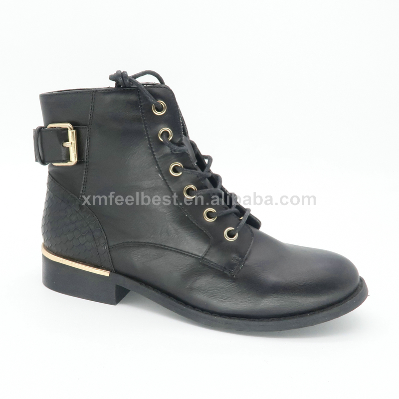 Fashion Woman Winter Wedge Heel Shoe Boot Warm Fur lace up martin Boot