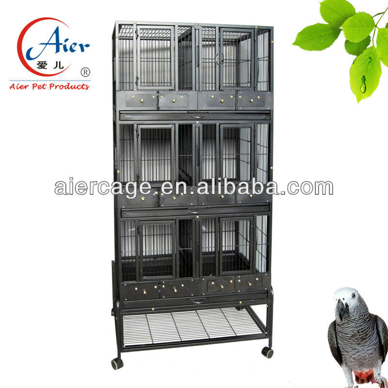 Chinese wire mesh breeding cage for birds for sale