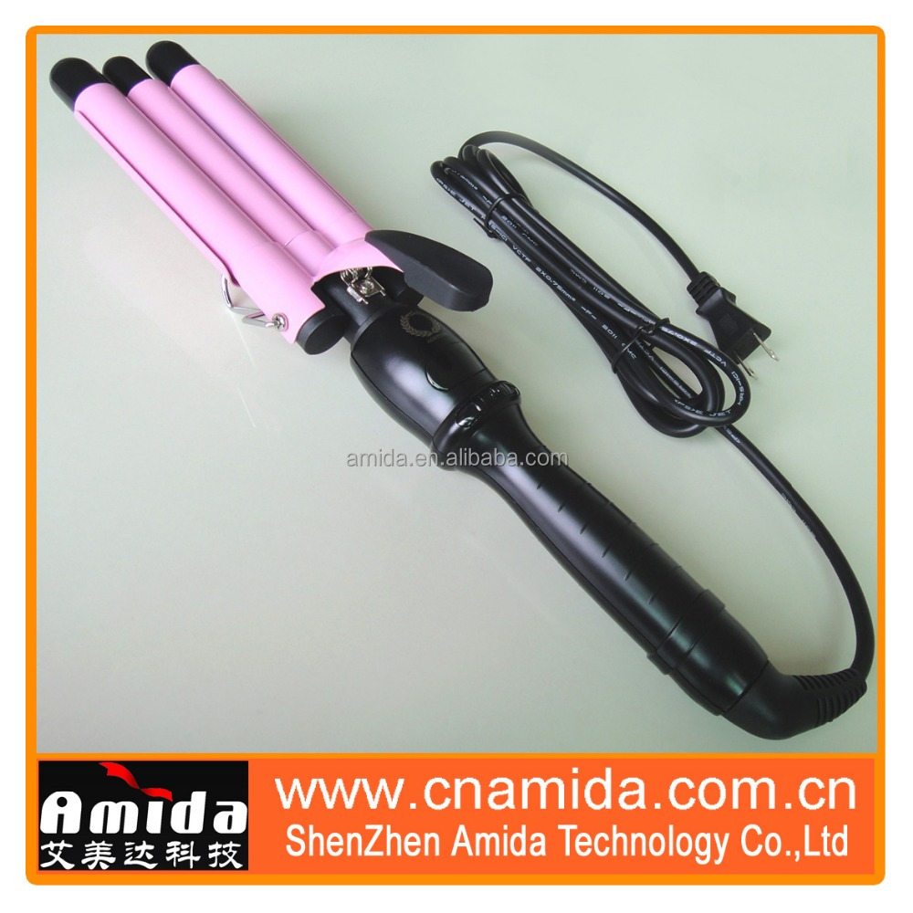 Wholesale LCD salon tool hair curler magic curling iron HR610 in China