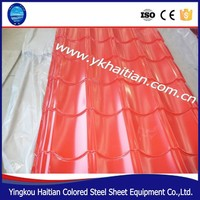 Fire proof/Anti rust Prepainted galvanized steel sheet/Long life span corrugated steel roofing sheet