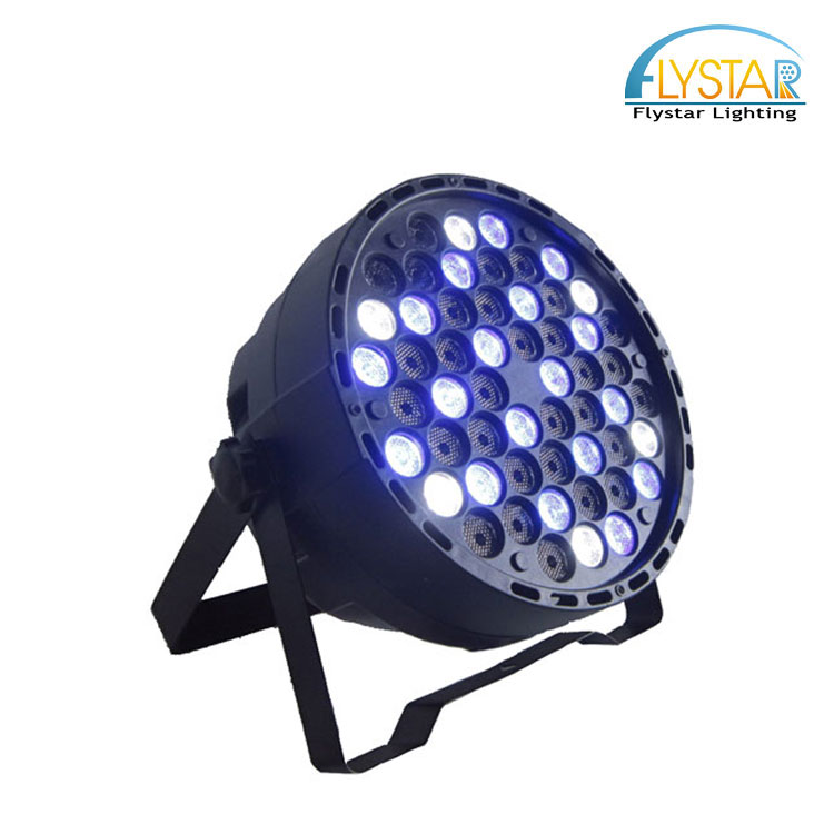 Best selling products 54X3W RGBW led flat par for christmas lights