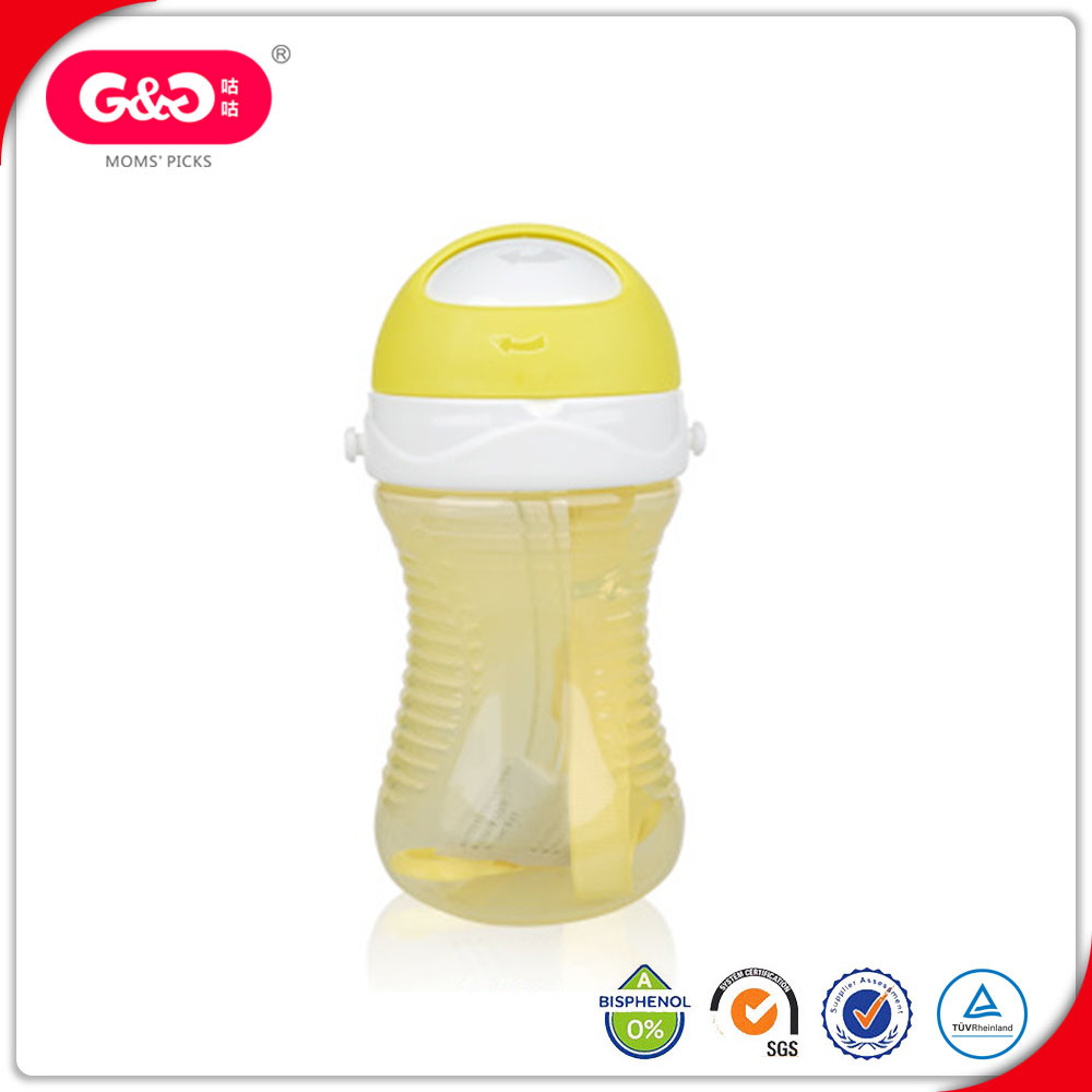 350ml Wide Neck Baby Kids Water Cup With Belt