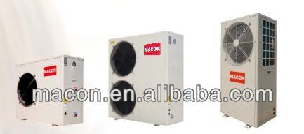 Residential water heater air source solar water pump