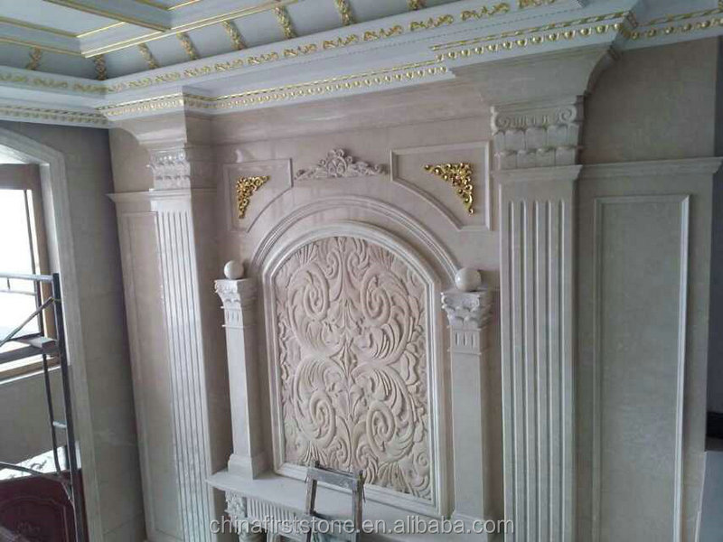 Morden luxury natural marble decoration house pillar designs for building materials from alibaba china