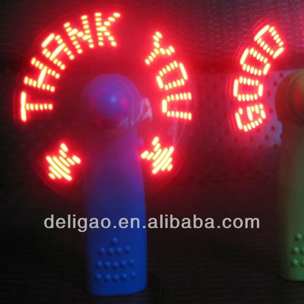 children's toy mini pocket led light fan flashing