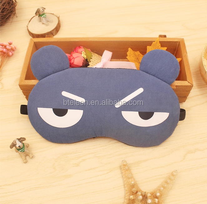 Cartoon expression Ice eye mask for kids and adult wholesale