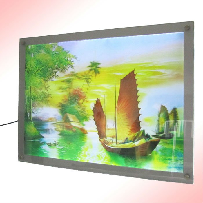 lenticular Picture 3D PP/PET on the wall