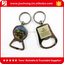 High quality souvenir bottle opener metal keychain